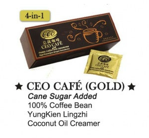 CEO Coffee Gold with Cane Sugar