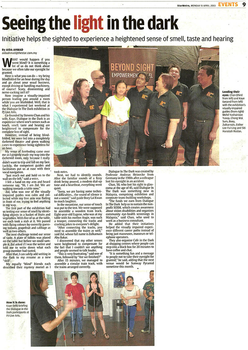 The StarMetro Scanned News Clipping