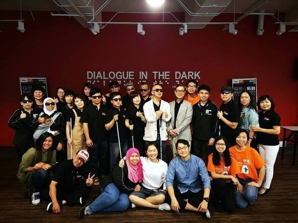 Group shot of DiD Taipei with DiD Malaysia team members