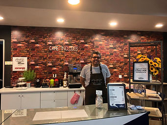 First Cafe Includes branch with our main barista Irfan