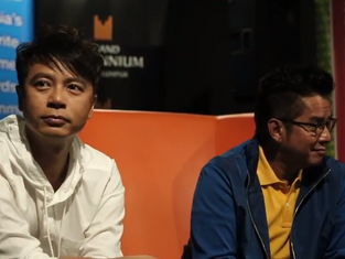 Alan Tam and Hacken Lee experience DID Malaysia