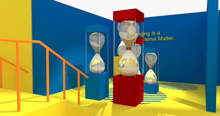 DwT Hourglass Exhibit