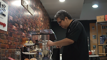 Learning difficulties was no obstacle for our cafe barista