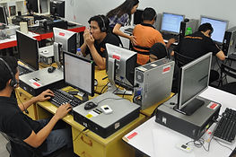Visually impaired call centre agents