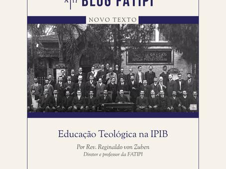 Educação Teológica na IPIB