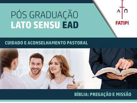 CURSOS DE PÓS-GRADUAÇÃO EAD DA FATIPI