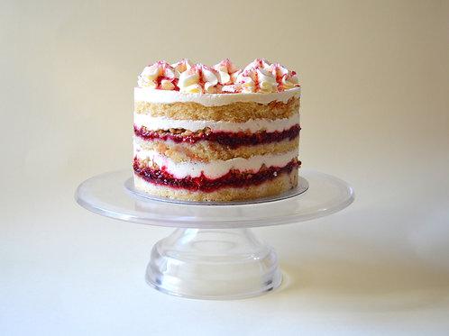 Raspberry Cheesecake Layer Cake
