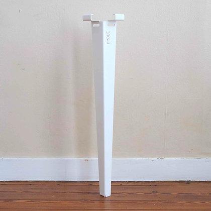 4 Pieds - Blanc - 74cm (sans barre de renfort)