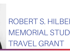 [Congrats] Gil Ju Lee have been selected as 'Robert S. Hilbert Memorial Student Travel Grant'.