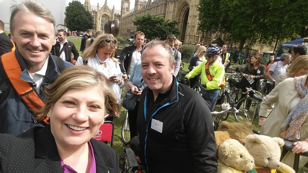 Emily Thornberry MP, Mike Kane MP and Huw Irranca-Davies MP