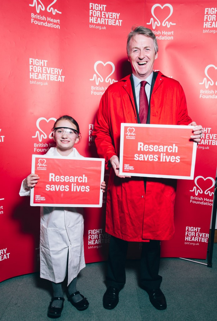 Huw - BHF campaign