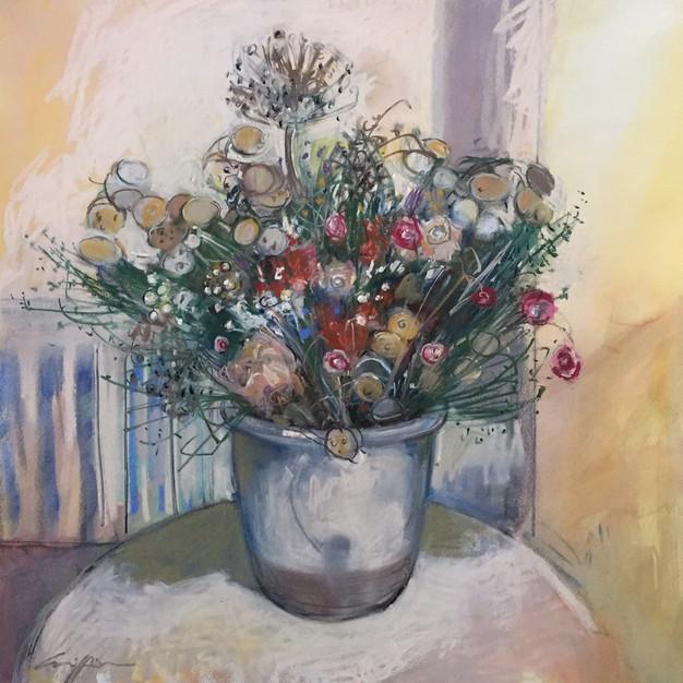 Still Life Dried Flowers