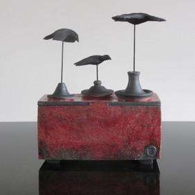 Three Elevated Birds, SOLD