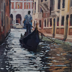 Towards the Grand Canal - Lesley Dabsons