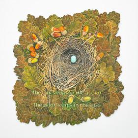 Elizabeth Forrest RBSA, The oak sleeps in the acorn