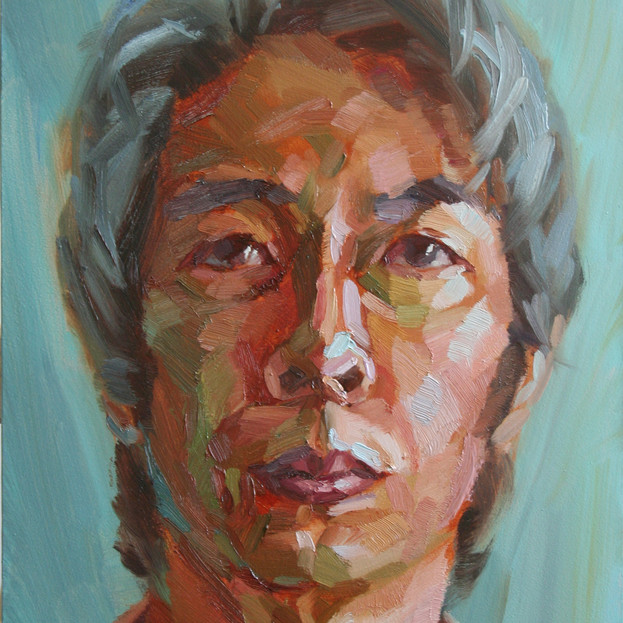 Bing Shi, Self Portrait in Lockdown, £300