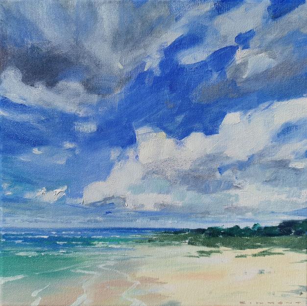 Cloud Over Beach