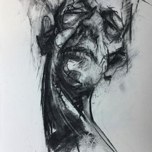 Brian Fletcher, Lockdown Self Portrait, £280