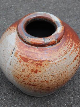 Large Shino Vase Stoneware SOLD