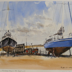 Boatyard, Felixstowe, Ferry