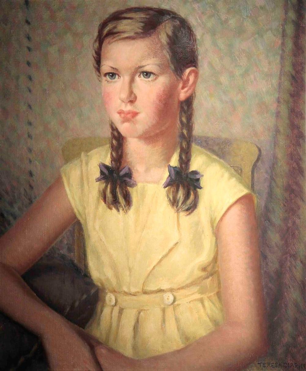 Betsy, Oil paint on canvas 59cmx50cm