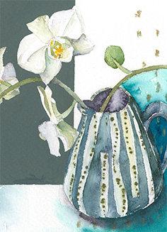Moth Orchid Stem Card