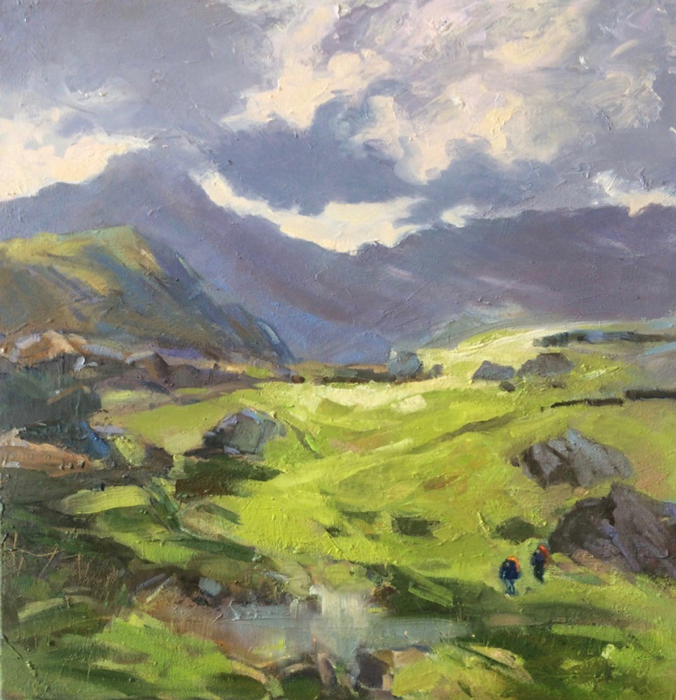 Joanne Powell A Good Day on the Fells