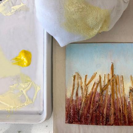 How Linda Nevill's print making practice evolved during lockdown