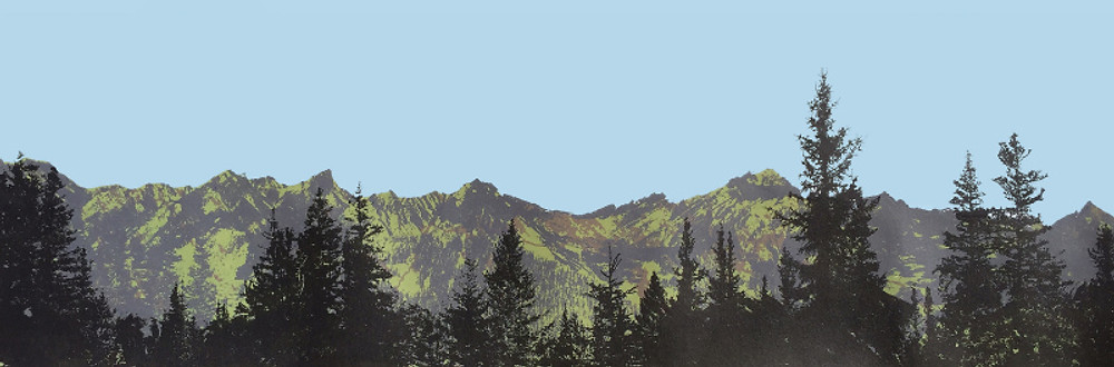Tom Harforth, 'Spruce and Ridge 3', Screenprint and Collage, £360