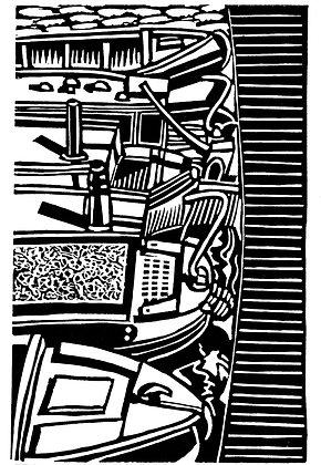 Gas Street Basin, Eric Gaskell