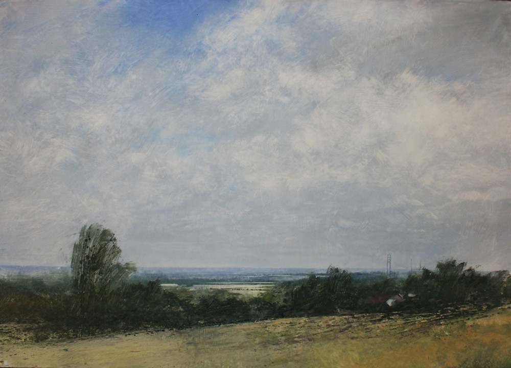 Robert Perry, 'View from Barr Beacon, Summer Clouds over Streetly'