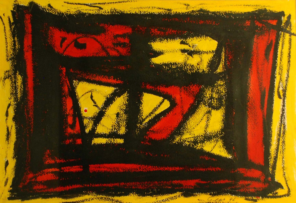 Find abstract paintings, drawings, sculptures, ceramics, printmaking, textiles and more at the RBSA Gallery in Birmingham