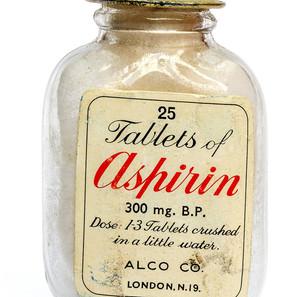 Geoffery Hodgson,  Aspirin Bottle