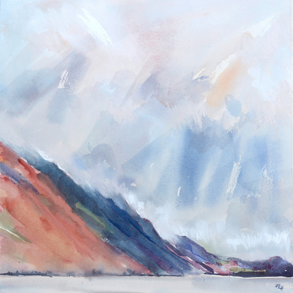 Winter Screes Wastwater Patricia Haskey