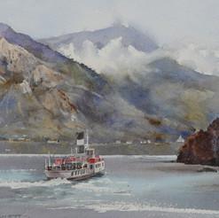 Old Steam Ferry Lake Garda