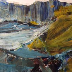 Rough Seas on Devon Coast