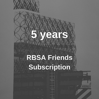 RBSA Friends Membership 5 Years