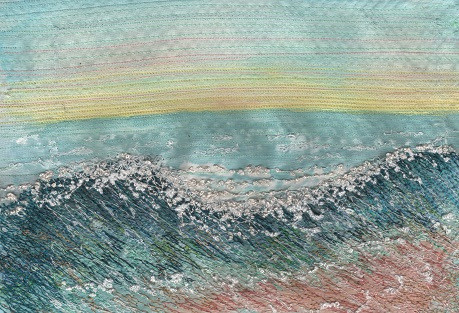 sea waves at Tywyn email