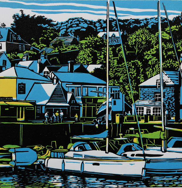 David White, Padstow Harbour