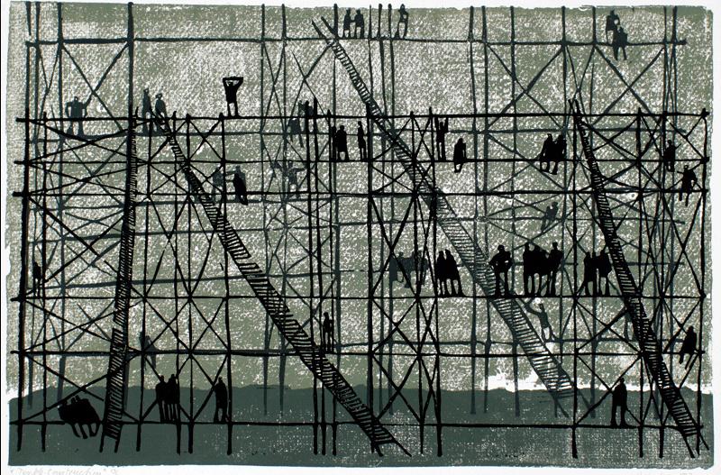 Heinke Jenkins' artwork_ Double Construction _ Posted on Nok… _ Flickr