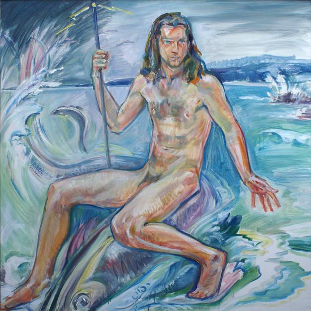 Poseidon God of Storms