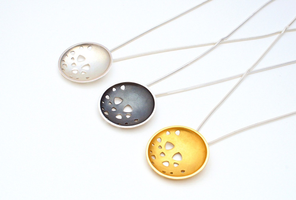 KatePhipps_Large scattered trillions pendants