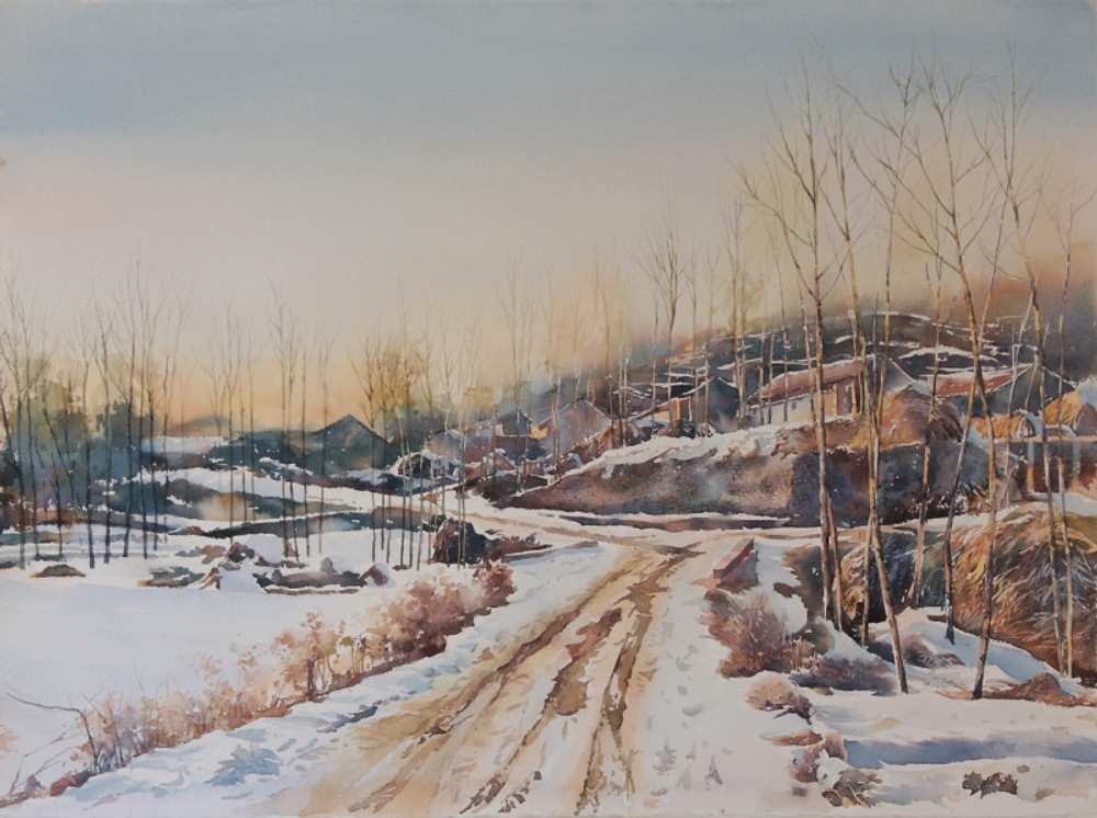Xiaoxia Guo, 'Winter of Yimeng'