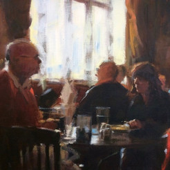 Charlotte's Tearoom, Afternoon Sunlight