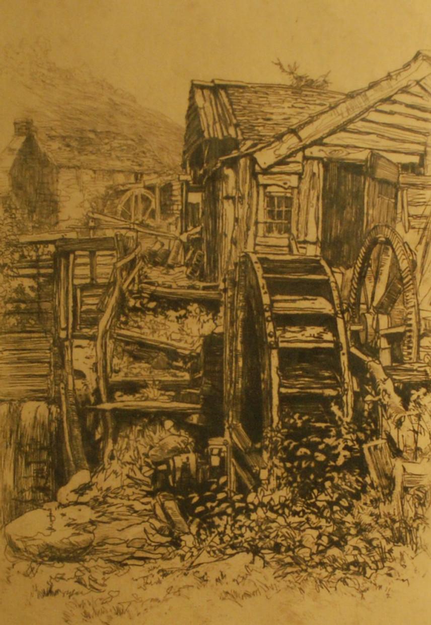 Baker%2c Oliver%2c Pandy Mill%2c print (etching)%2c 2005X20