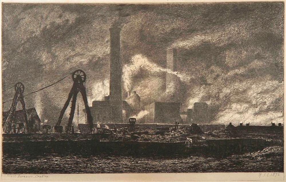 18. Richard Samuel Chattock. Blast Furnaces, Cradley, Staffordshire