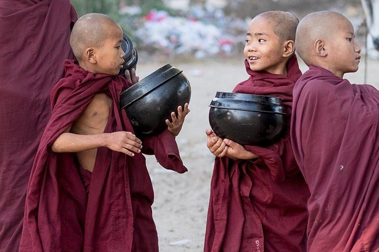 Myanmar boys
