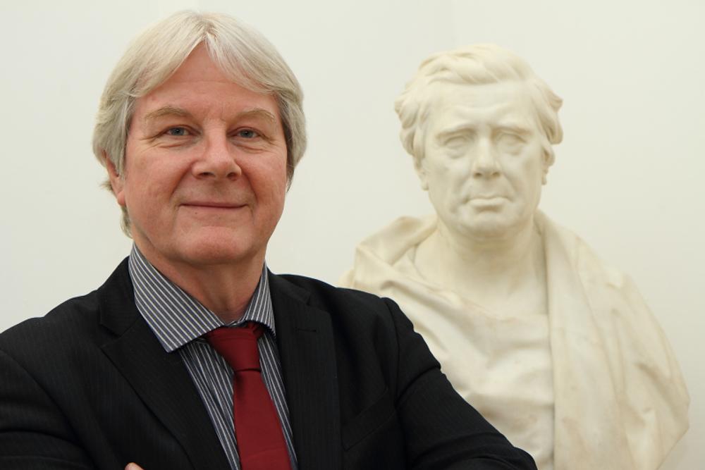 Brendan Flynn, Research Curator, RBSA Gallery. Photo credit: James White