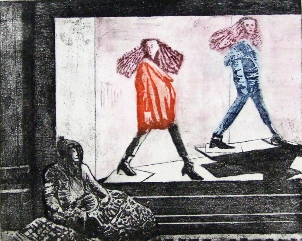 On trend - etching - Linda Nevill
