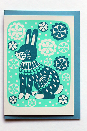 Blue Rabbit Card